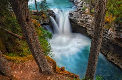 Tapeta: Vodopády23