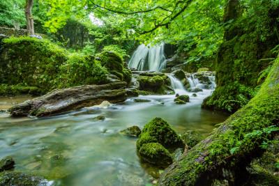 Tapeta: Vodopády32