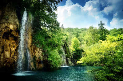 Tapeta: Vodopády8