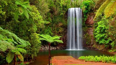 Tapeta: Vodopády9