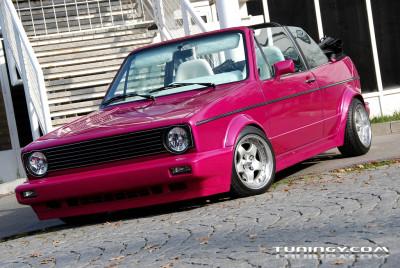 Tapeta: Volkswagen Golf I cabrio