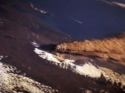 Tapeta: Vulkán v Rusku
