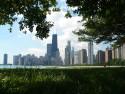 Tapeta Výhled na Chicago