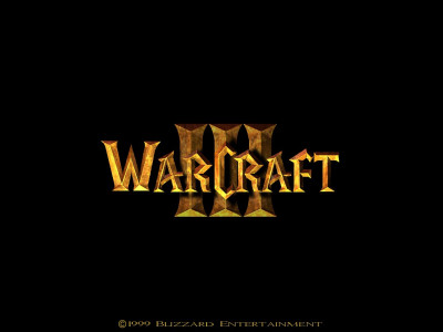 Tapeta: Warcraft 3 logo