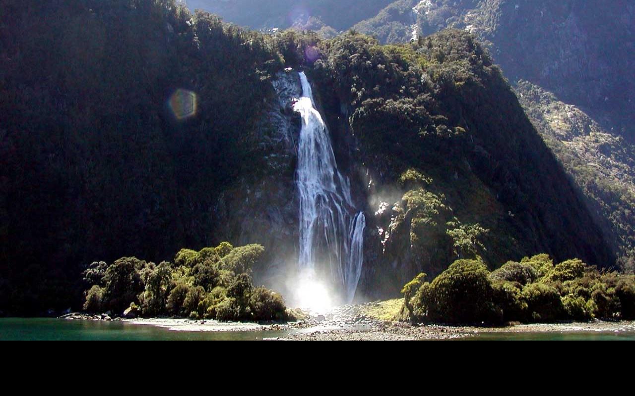 Tapeta waterfalls