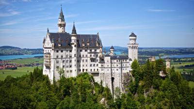Tapeta: Zámek Neuschwanstein, Německo