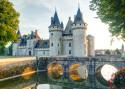 Tapeta Zámek Sully-sur-Loire, Francie