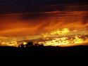 Tapeta západ hoří