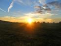 Tapeta Západ slunce (Luhov)
