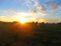 Tapeta Západ slunce (Luhov) II
