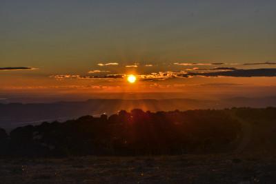 Tapeta: Západ slunce, Mourre Négre