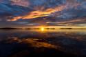 Tapeta Západ slunce, Sotra,