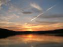 Tapeta Západ slunce na Vranově 1