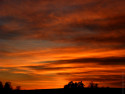 Tapeta západ slunce na Vysočině II