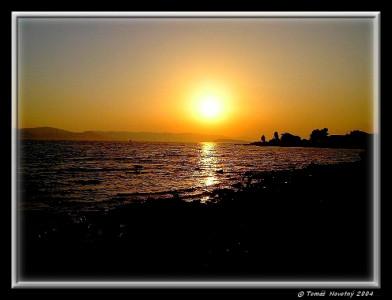 Tapeta: Západ Slunce v Biogradu.HR