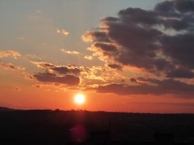 Tapeta: Západ slunka