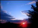Tapeta zapadajcí slunce