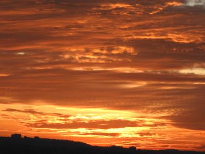 Tapeta: Zapadající sluníčko
