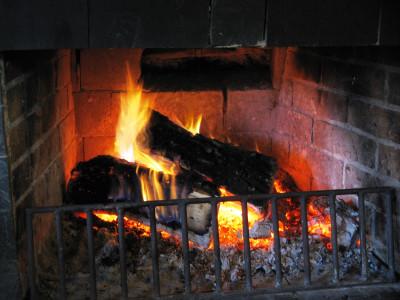 Tapeta: zátiší ohně