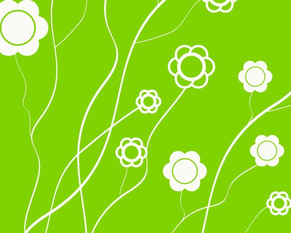 Wallpaper cz gt umění gt digitální gt zelená kytičky gt stažení
