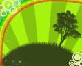 Tapeta Zelený sen
