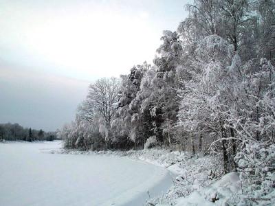 Tapeta: Zima Švédska 6