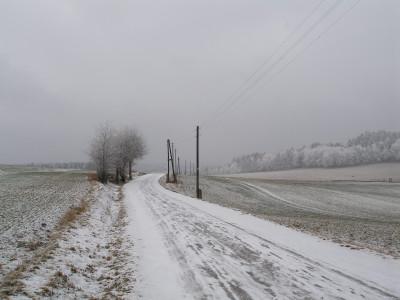 Tapeta zimní krajina doupě jihlavsko1