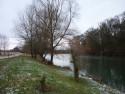 Tapeta Zimní řeka