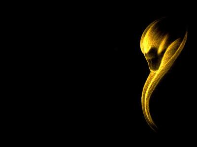Tapeta: Zlatá fantazie