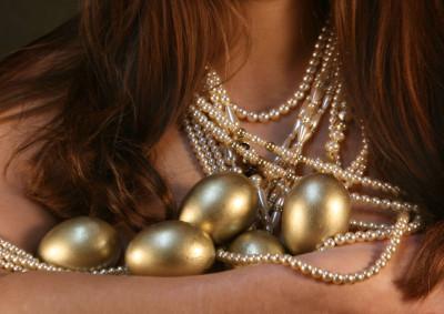 Tapeta: zlatá vajicka