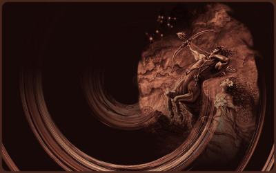 Tapeta: Zvěrokruh Střelec