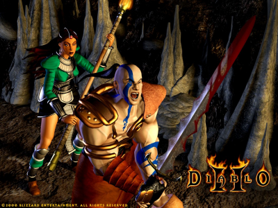 diablo 2 wallpapers. because of playing Diablo2