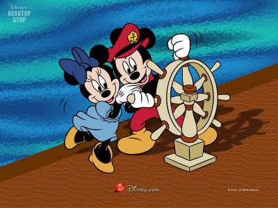 Tapeta: Mickey a přátelé 4