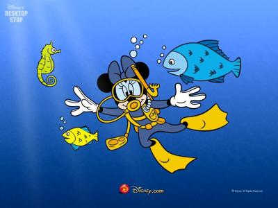 Tapeta: Mickey a přátelé 5