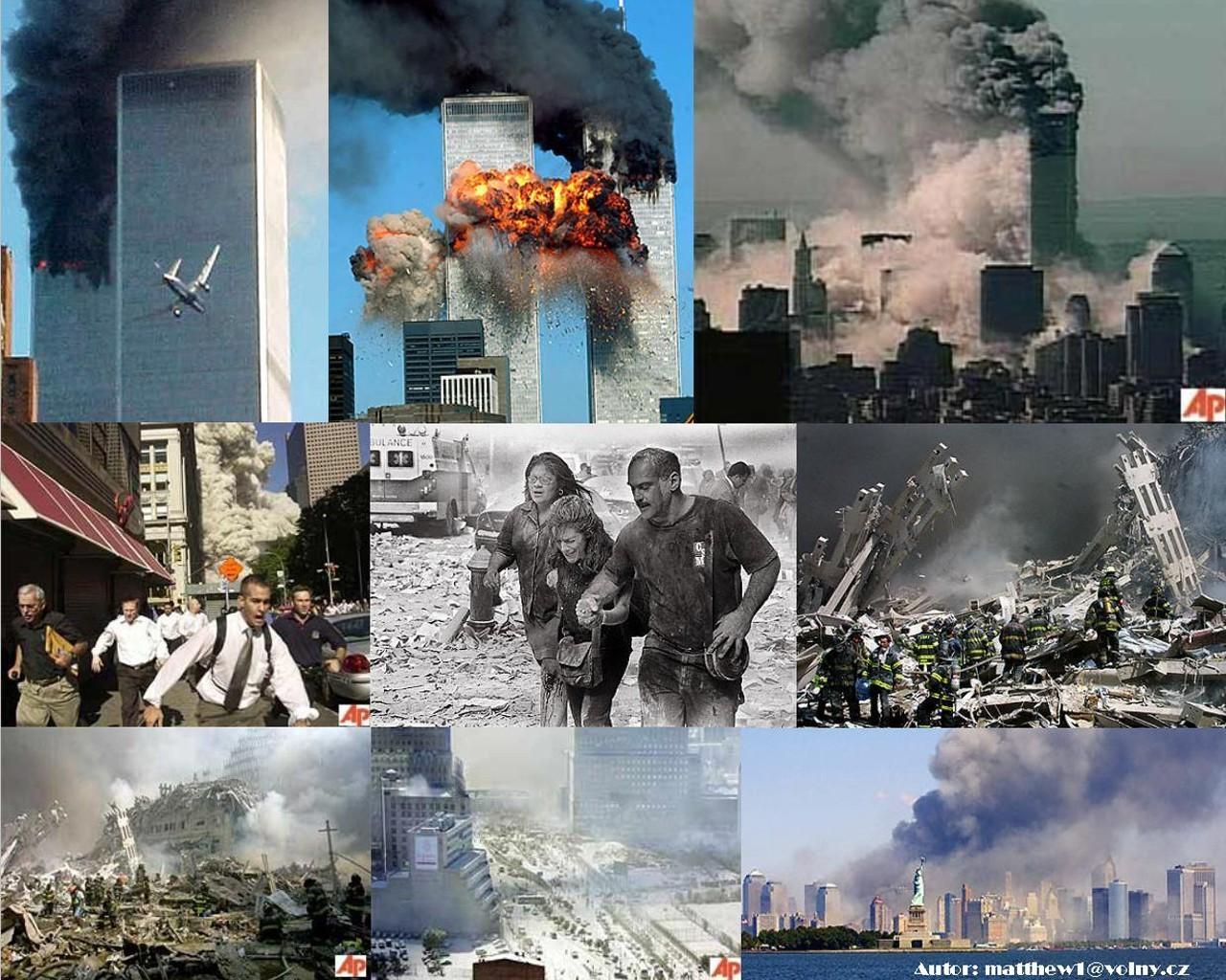Tapeta New York 11.9.2001 - Wallpaper.cz